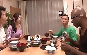 Japanese wife at bottom black-reiko