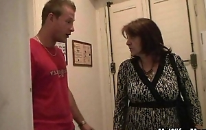 Order about granny gets laid by son-in-law