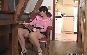 Horny mother-in-law needs new penis
