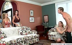 Mamas darla crane, holly halston and julia ann sharing weenie
