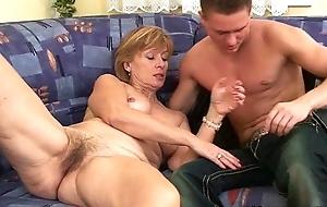 Grandma needs your rod and cum