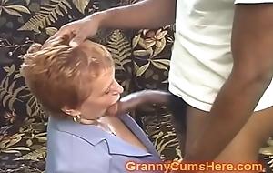 Omnibus school granny acquires screwed