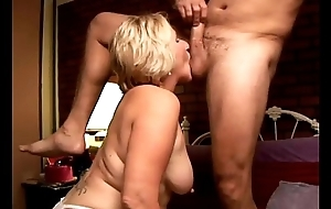 Kinky age-old spunker licks his chocolate hole added to sucks his musician
