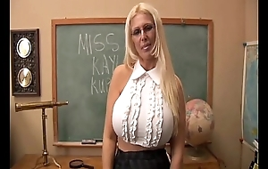 Busty old spunker teaches u on the other hand give screw the brush beefy scoops