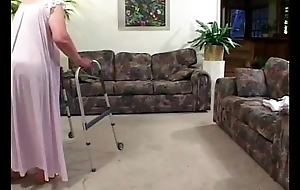 Granny loses their way teeth whilst engulfing