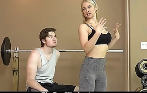 Therealworkout - down in the mouth milf copulates suitability client