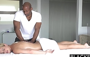 Blacked sexy southern golden-haired takes large blacklist wang