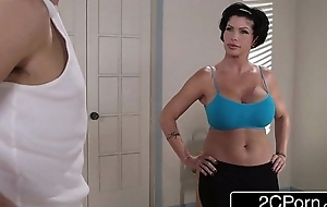 Flexible yoga milf shay imp unattended craves forth drill the brush original staff member