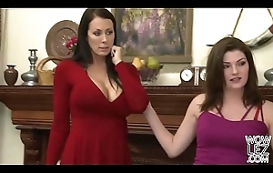 Of a female lesbian hotties Bree Daniels and Reagan Foxx