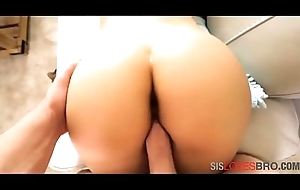 Fucking my trollop sis'_s tight pussy!