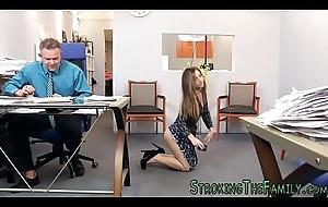 Cramped prostitute rides stepdad