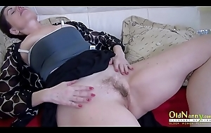OldNannY Lonely Mom Solo Pussy Decry