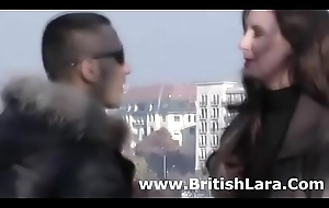 British of age lady meets young guy be advisable for coitus