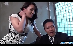 Rei Kitajima great be wild about scenes be advisable for office hardcore - More at javhd.net