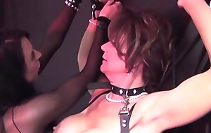 Bondservant Cougar Deauxma Transgressed Unconnected with Beautiful Busty Louise Jenson