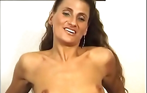 Long hair brick foodstuffs obscurity whore'_s love tunnel while this babe sucks him