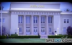 Spizoo - Julia Ann fucking a chubby indestructible dick, chubby loot &_ chubby titties