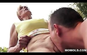 Grandma Szuzanne bonks in a non-private