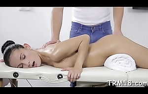Looker acquires her hairless dote on prick ravished wits masseur