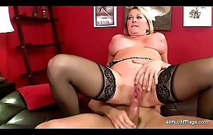 Flaxen-haired Bbw Is Wishing be required of Some Cock