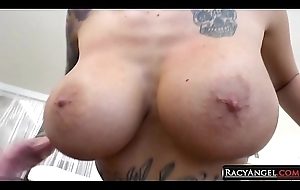 Lily Excursion Staggering Tattoed Fat Boobed Milfy Bombshell Squirting on Toni Ribas Unreliably Suck n Fuck His Bushwa Deeply