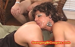 Cum Engulfing ass wear and tear WIVES