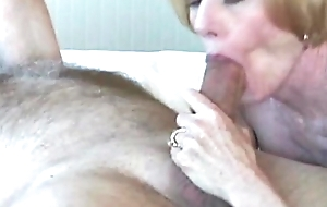 Grannie Swell up Fuck and Mucilaginous Facial