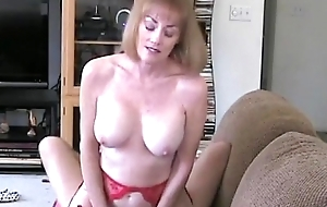 Grandma Rides The Firm Cock At bottom Couch