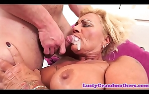 Tattooed gilf drilled with fancy