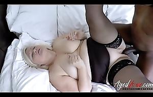 AgedLovE Lacey Starr XXL Square Granny Hardcore Sex