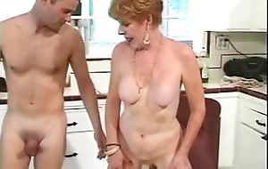 Youthful guy bonks blunt haired edhead 70 domain old. see here on fucktube8.com