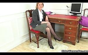 British sexiest granny secretaries piracy off