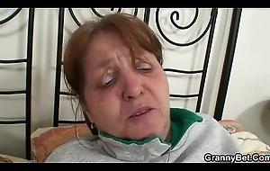 Injured elderly granny is healed by weasel words