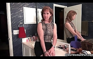 Grandma Claire'_s old pussy needs some industry