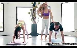 Brazzers - Brazzers Exxtra - Yoga Freaks Episode Seven scene leading role Ariana Marie, Nicole Aniston