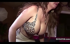 Milf Seduce Louring Friend of their way Daughter to Be crazy their way when alone