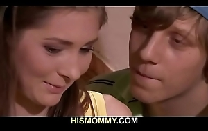 Nasty full-grown lesbian toying say no to son'_s girl