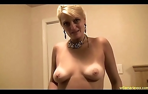 busty adult tow-headed mam oral pleasure