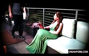 Creampie elegant mature woman around chunky cock