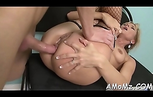 Materfamilias acquires say no to anal creampied