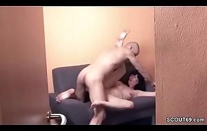 Not fair German Female parent and Father Fellow-feeling a amour with Hidden Webcam