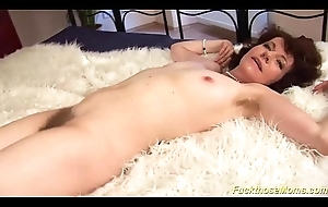 pioneering hairy mom fucked