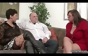 German MILF Act out Hang on relative to Be captivated by Well posted on Threesome