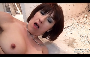 Amateur plush french milf sodomized and facialized for will not hear of sextape