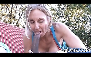 Shellacking coupled with shagging sexy tit