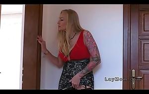 Busty numero uno wife sucked and screwed in underwear