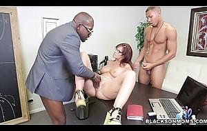 Colourless MILF is a Black Cock addict
