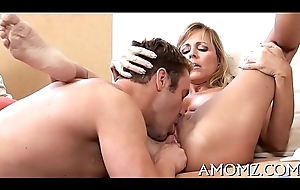 Ma gets say no to anal creampied