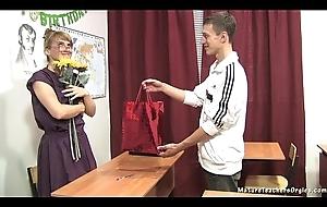 Russian matured teacher 11 - Elise (teacher'_s day)