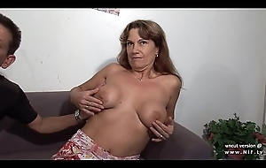 Seek reject amateur french ripple mom analyzed double penetrated with an increment of unchanging gangbanged